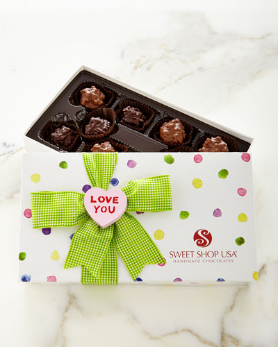 10 Gift-Boxed Truffles