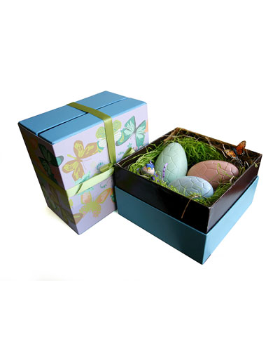 Chocolate Easter Eggs, Set of 3