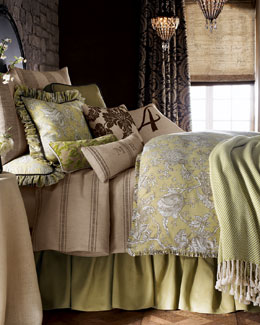 "French Laundry Home ""Spring Garden"" Bed Linens, King"