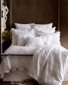 "Pine Cone Hill ""Juliet"" & ""Zella"" Bed Linens, King"