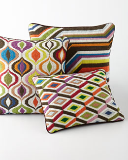 "Jonathan Adler ""Bargello"" Pillows"