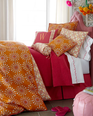 "Amity Home ""Circular Motion"" & ""Square Root"" Bed Linens"