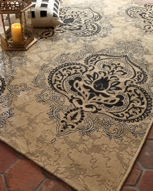Safavieh Outdoor Damask Rug