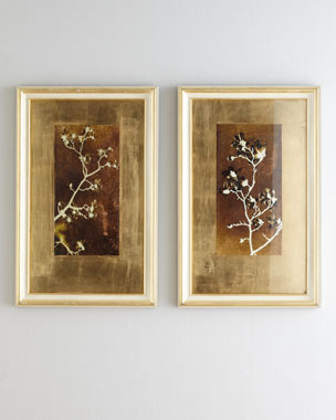 "John-Richard Collection ""Gold Leaf Branches"" Prints"