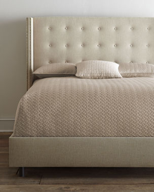 Parlin Tufted Wing Bed
