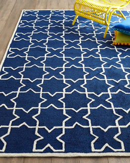 Tic Tac Toe Indoor/Outdoor Rug