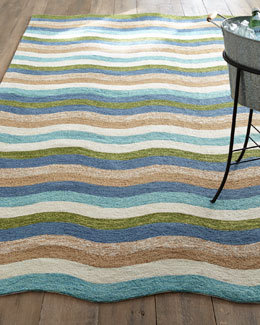 Caribbean Waves Indoor/Outdoor Rug
