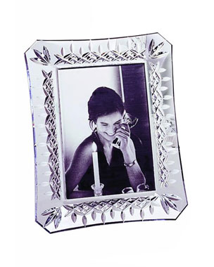 "Waterford Crystal ""Lismore"" Frames"