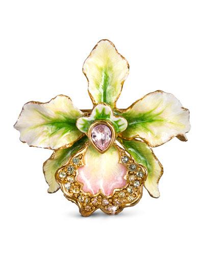 Anita Orchid Pin