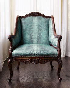 Turquoise Chair -  Horchow