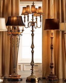 Horchow Candelabrum Lamps