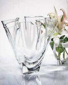 """Steuben Steuben """"Handkerchief"""" Vases"""