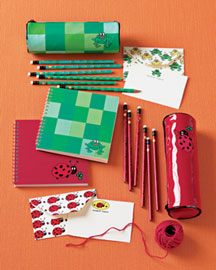 Horchow Writing Set and Personalized Notes
