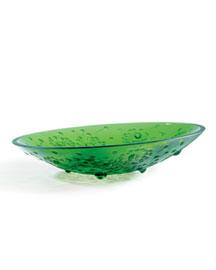 """Horchow Lalique Green """"Bucolique"""" Bowls"""