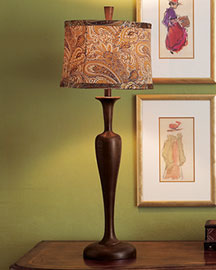 Horchow Rosewood Lamps