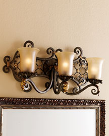 Horchow Bath Sconces