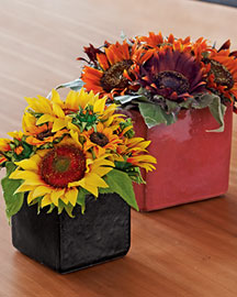 Horchow Faux Sunflowers