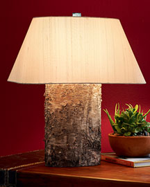 Horchow Birch Lamps