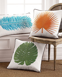 Linen Decorative Pillows -   Horchow