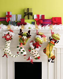 Krinkles Christmas Stockings -  Horchow