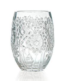 """Lalique Lalique Clear """"Bucolique"""" Vase"""