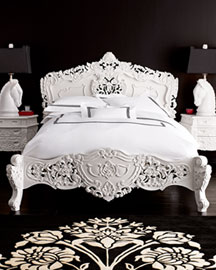 "Horchow ""Rococo"" Bed"