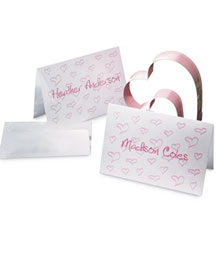 Horchow Personalized Heart Notes