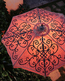 Lighted Umbrella -  Horchow