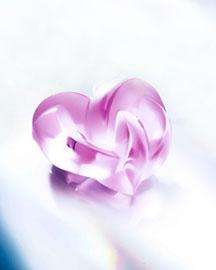 Lalique Lalique Pink Crystal Heart