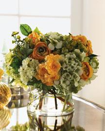 Horchow Faux Floral Arrangement