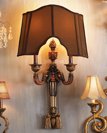 "Horchow ""Balmoral"" Sconce"