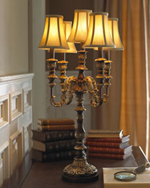 Horchow Candelabra Table Lamp