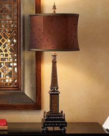 Horchow Obelisk Lamp