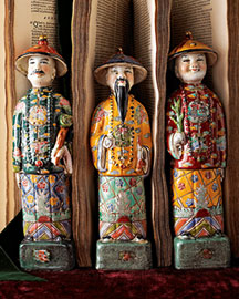 Horchow Asian Royal Figurines