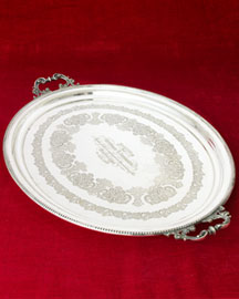 Horchow Oval Tray, c. 1903