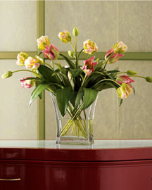 Horchow Faux Tulips Arrangement