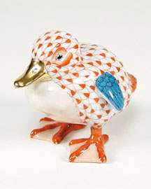 Horchow Herend Duckling Figurine