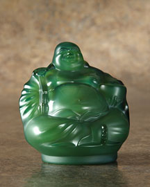 Horchow Lalique Crystal Buddha
