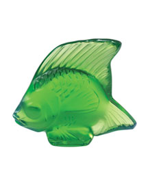 Horchow Lalique Crystal Angel Fish