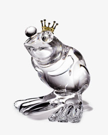 Horchow Steuben Frog Prince