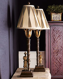 Horchow Asian Buffet Lamp