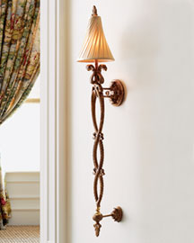 "Horchow ""Lauren"" Wall Sconce"