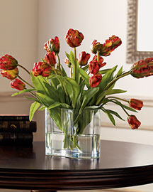 Horchow Faux Tulips