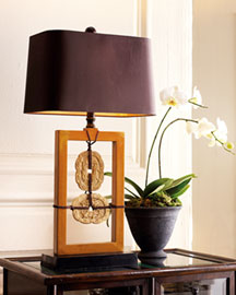 Horchow Soapstone Lamp