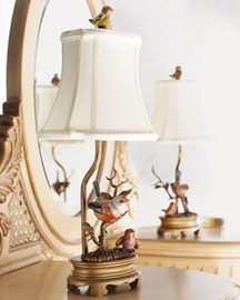 Horchow Bird Lamp