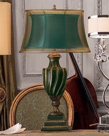 Horchow Double-Shade Urn Lamp