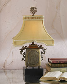 "Horchow ""Temple Urn"" Mini Lamp"