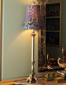 "Horchow ""Holland Blue"" Lamps"