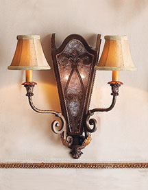 "Horchow ""Aster Troy"" Sconce"