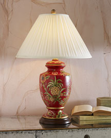 "Horchow ""Pineapple Bounty"" Lamp"